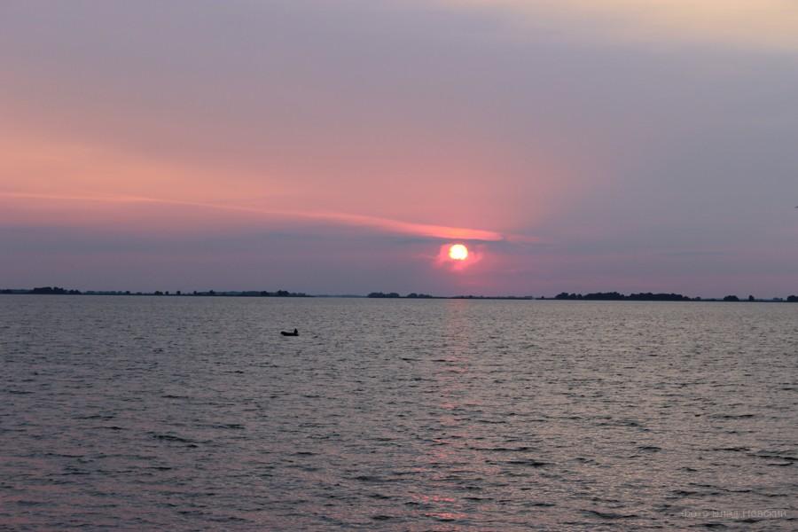 закат, Днепр